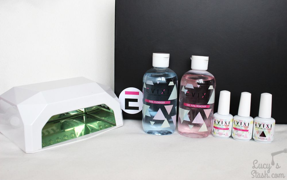 Evixi Gel Full Starter Kit Review and Colour swatches - Part 1
