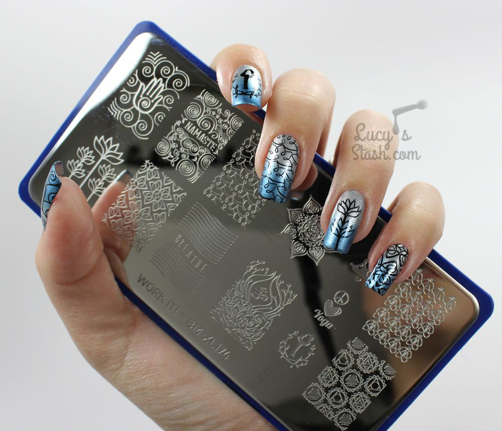 Stamping Nail Art with Bundle Monster Work It! Plates & Review ...