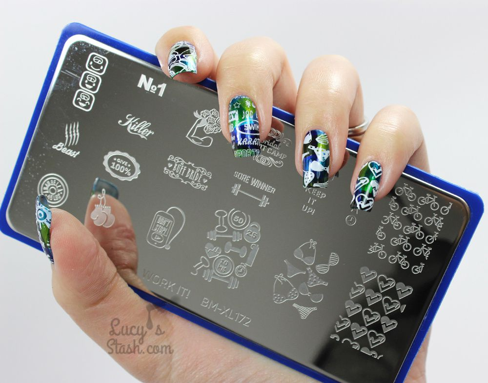 Work It Baby! Stamping Nail Art with Bundle Monster Work It! Plates