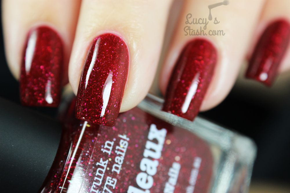 Could this be THE perfect vampy red? piCture pOlish Bordeaux! Review ...