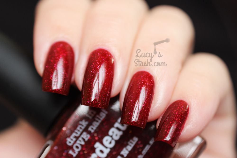 Could this be THE perfect vampy red? piCture pOlish Bordeaux! Review &amp&#x3B; Swatches
