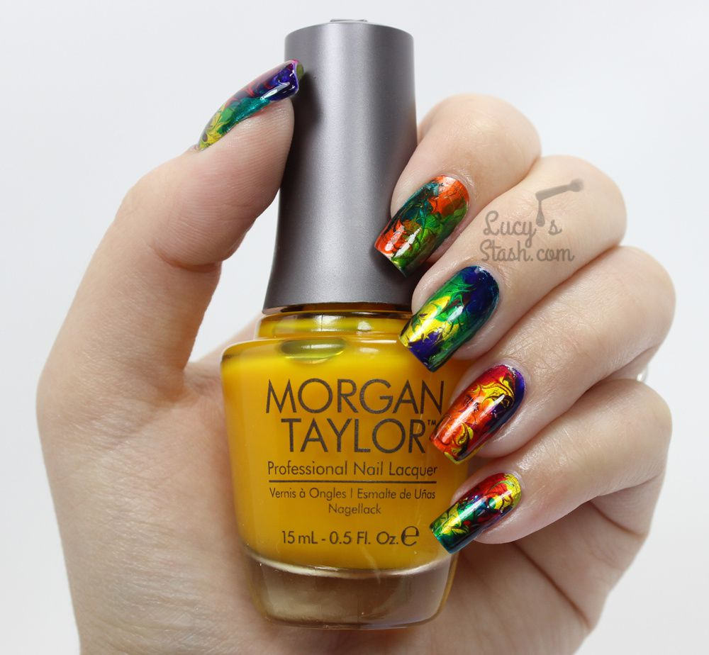 Morgan Taylor CHROME Collection | Review &amp&#x3B; Nail Art Manicures