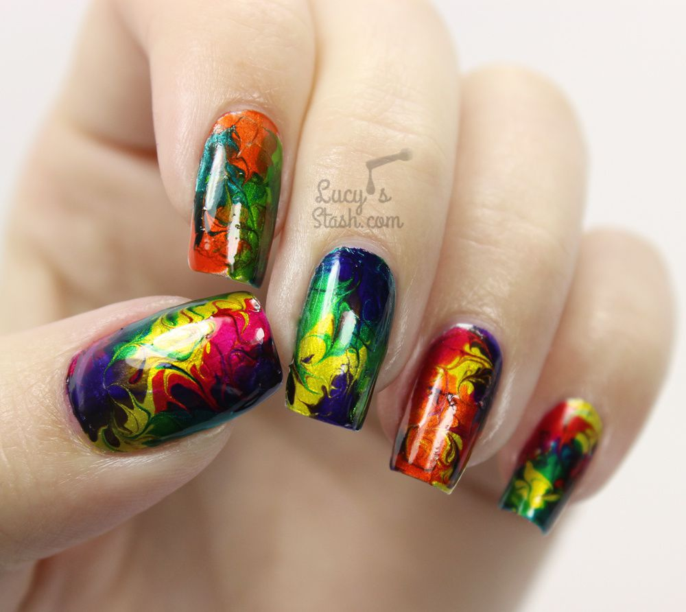 Chrome Nail Art Designs: Morgan Taylor CHROME Collection