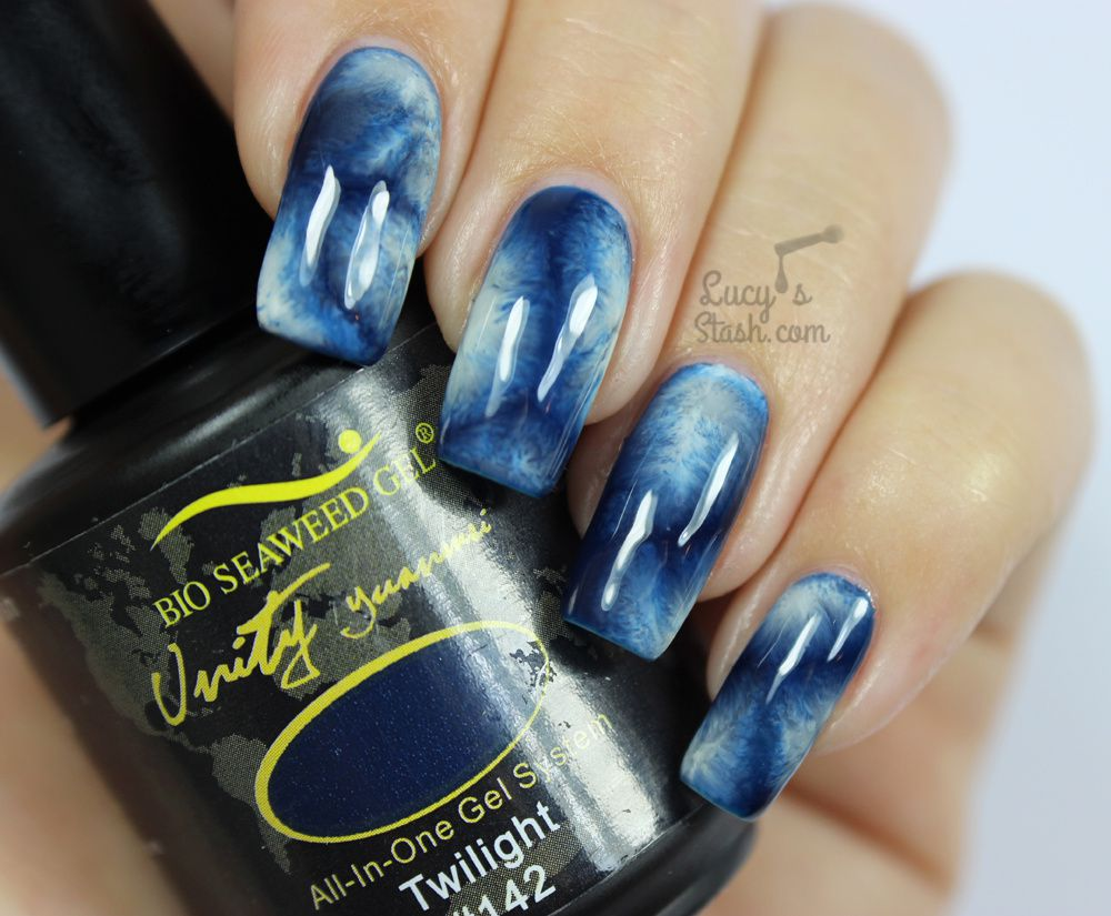 Frost On Nails? Create a Window Frost-like Manicure With This TUTORIAL