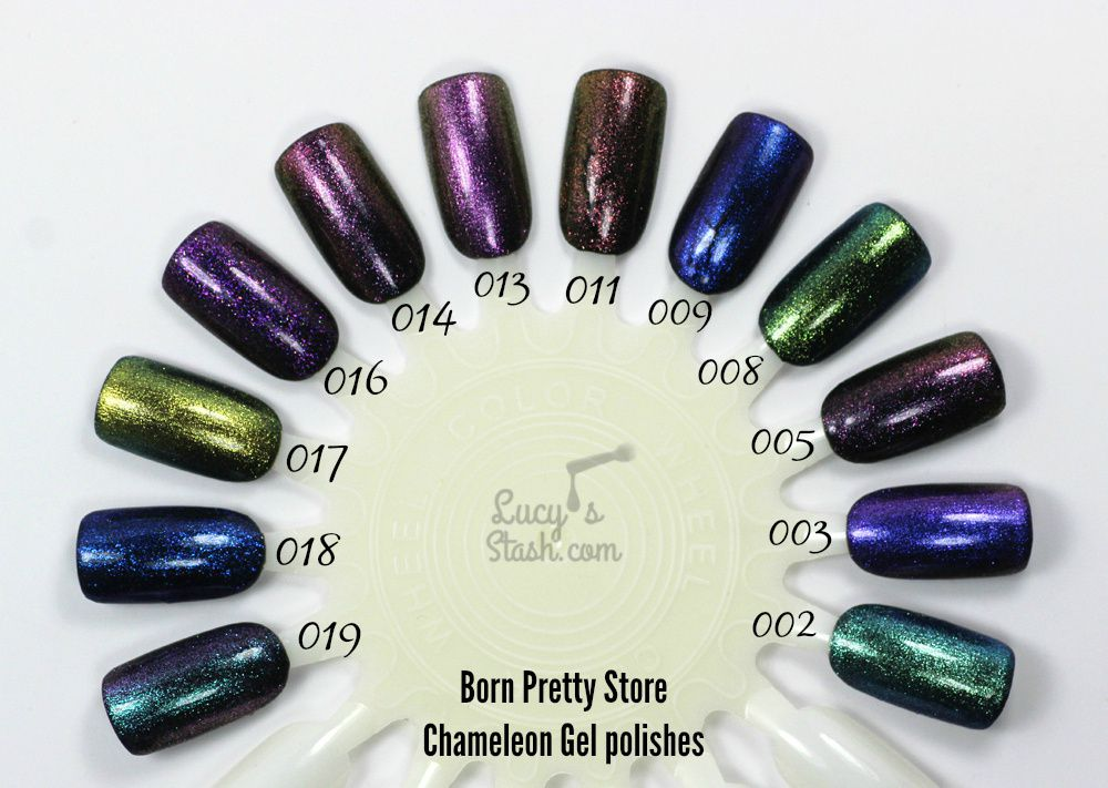 Born Pretty Store Chameleon Gel Polish Collection Review