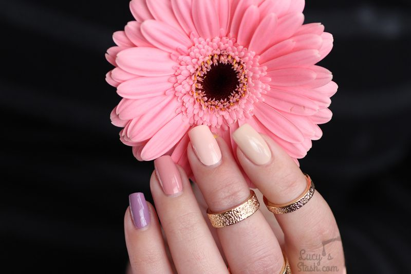 Skittle Nails with Barry M Speedy Quick Dry | Review