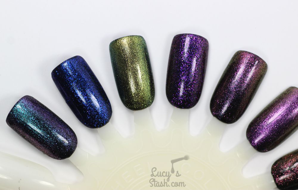 Born Pretty Store Chameleon Gel Polish Collection Review &amp&#x3B; Nail Art