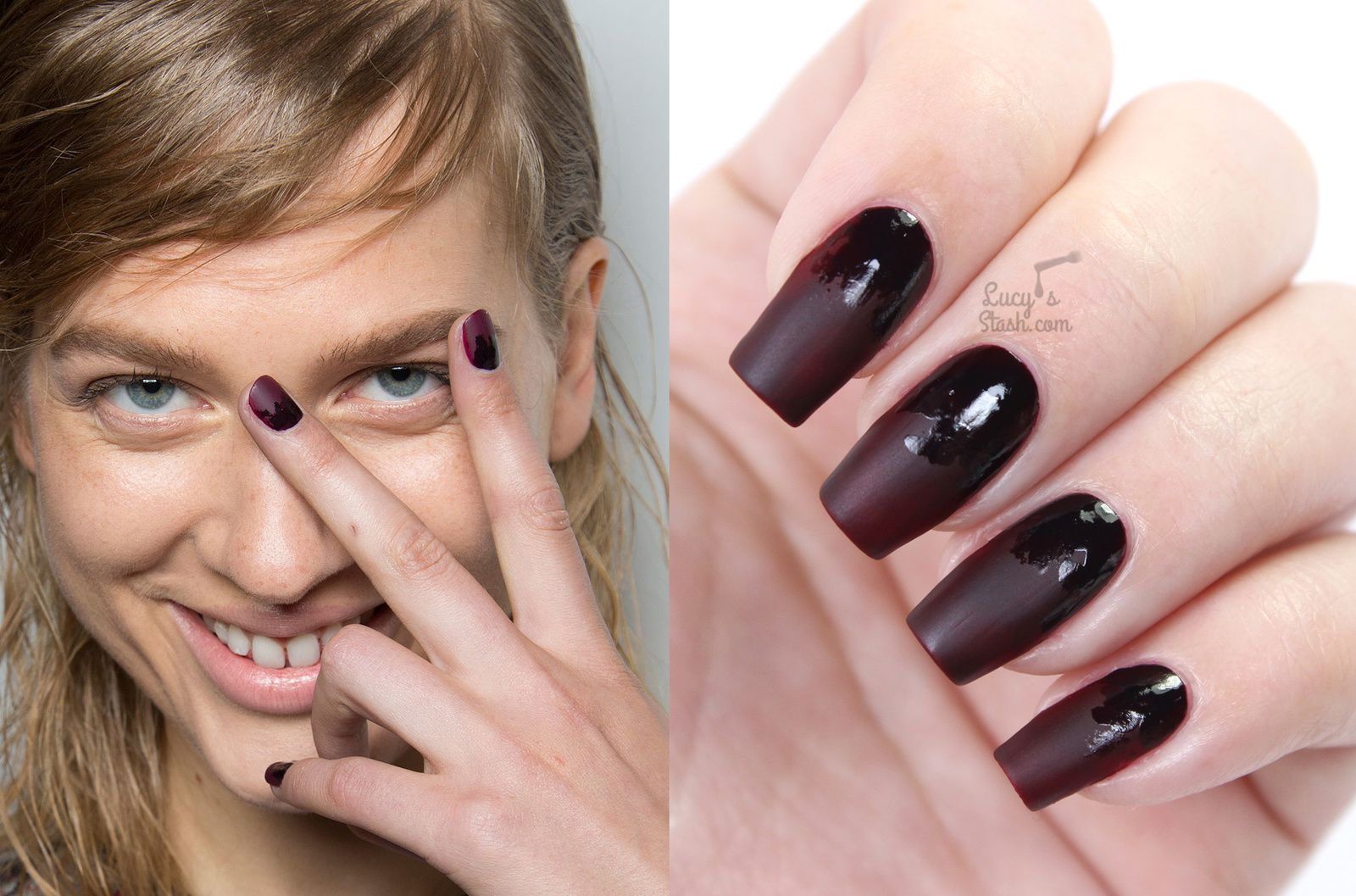 Eye catching Dark nails colors fall-Winter 2016-2017 – What Woman Needs