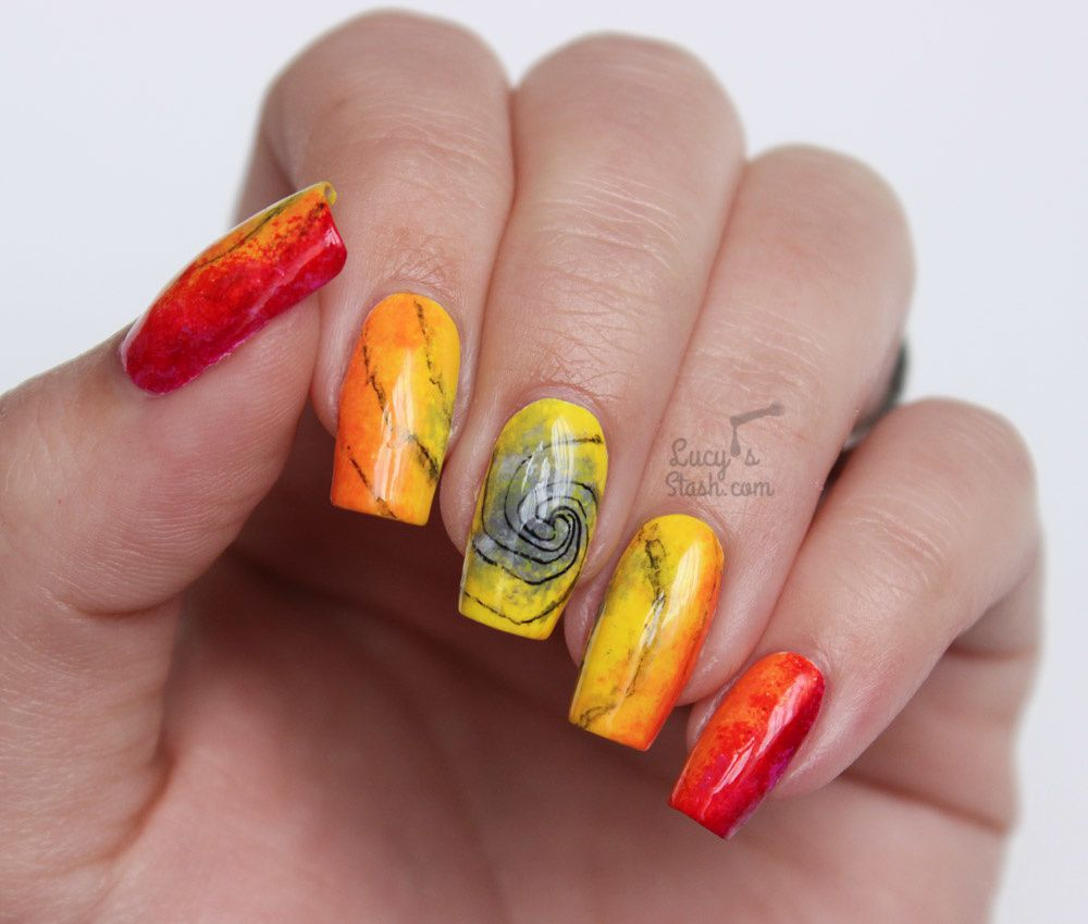 ABC Challenge: A is for Abstract | Nail Art Challenge - Lucy\'s Stash