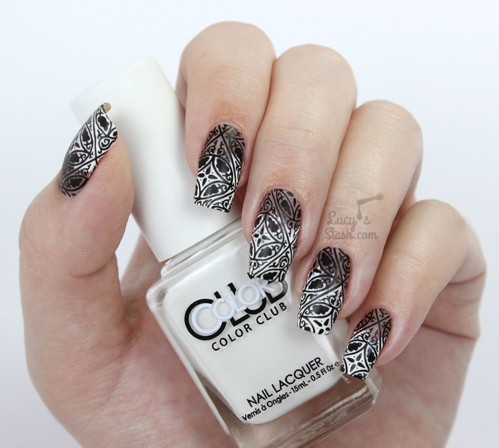 Paint All The Nails Presents Monochrome - Black & White Nail Art Manicure
