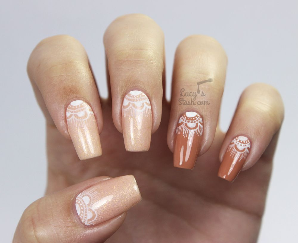 ABC Challenge: D is for Delicate | Nail Art Challenge