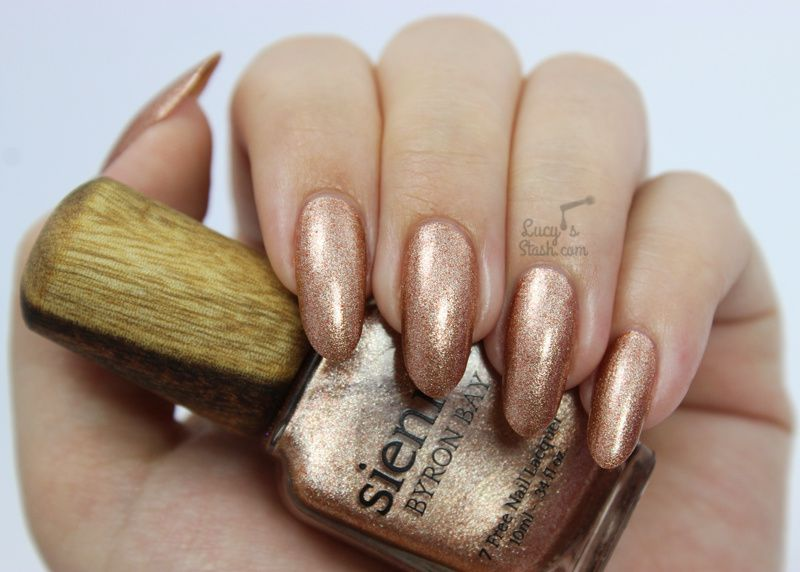 Sienna Byron Bay Polishes &amp&#x3B; Top Coat - Review &amp&#x3B; Swatches