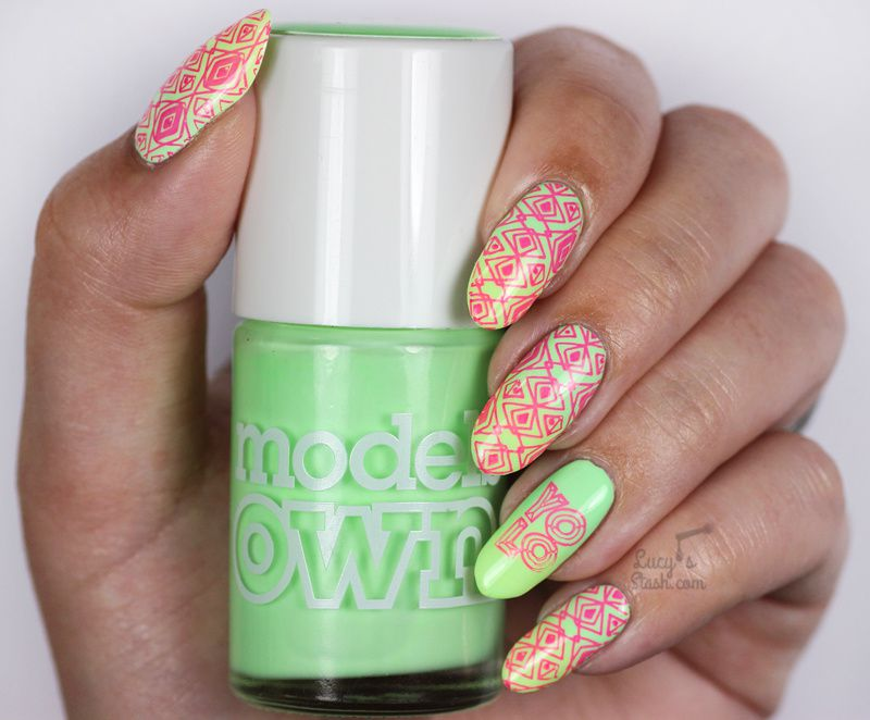 Paint all the nails presents neon nail art lucys stash paint all the nails presents prinsesfo Choice Image