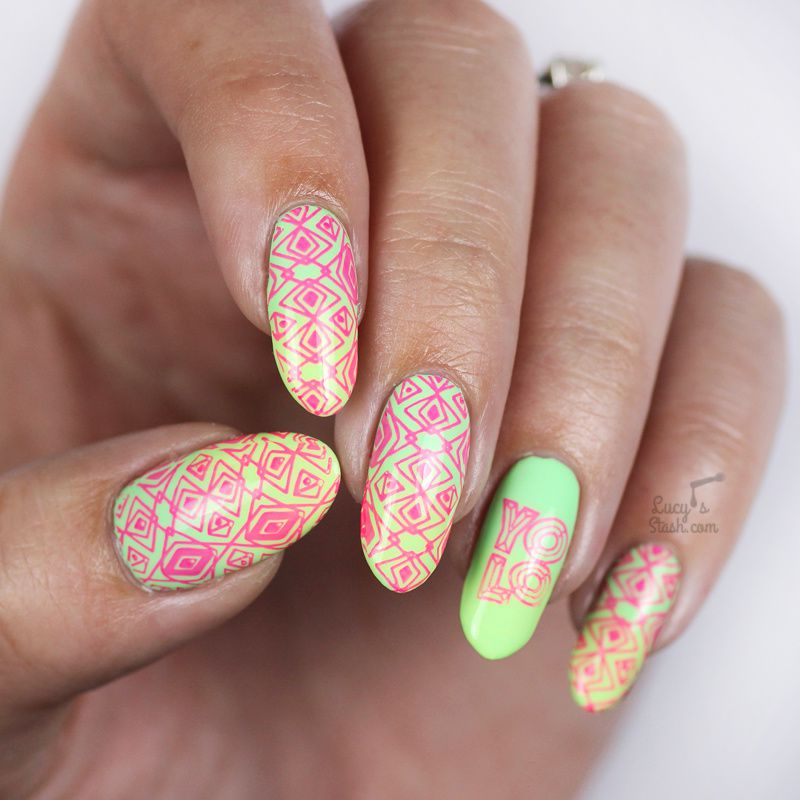 Paint all the nails presents neon nail art lucys stash paint all the nails presents neon nail art prinsesfo Choice Image