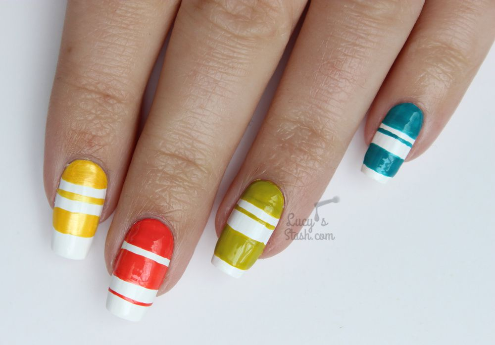 Paint All The Nails Presents Colour Block Nail Art + TUTORIAL ...