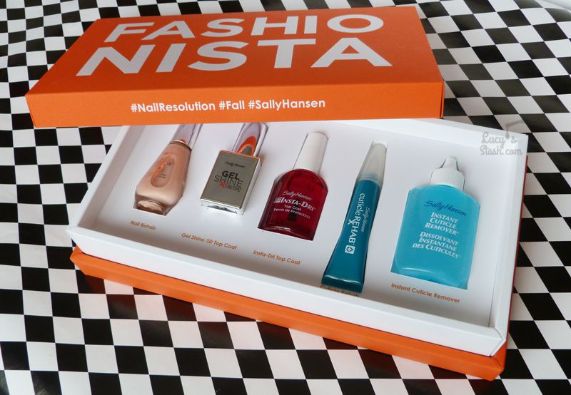 Review: Sally Hansen Fashionista Box - Fashion Week Fave products