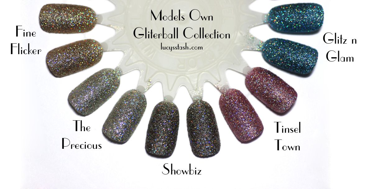 Models Own Glitterball Collection &amp&#x3B; Instagram GIVEAWAY Announcement | Review &amp&#x3B; Swatches