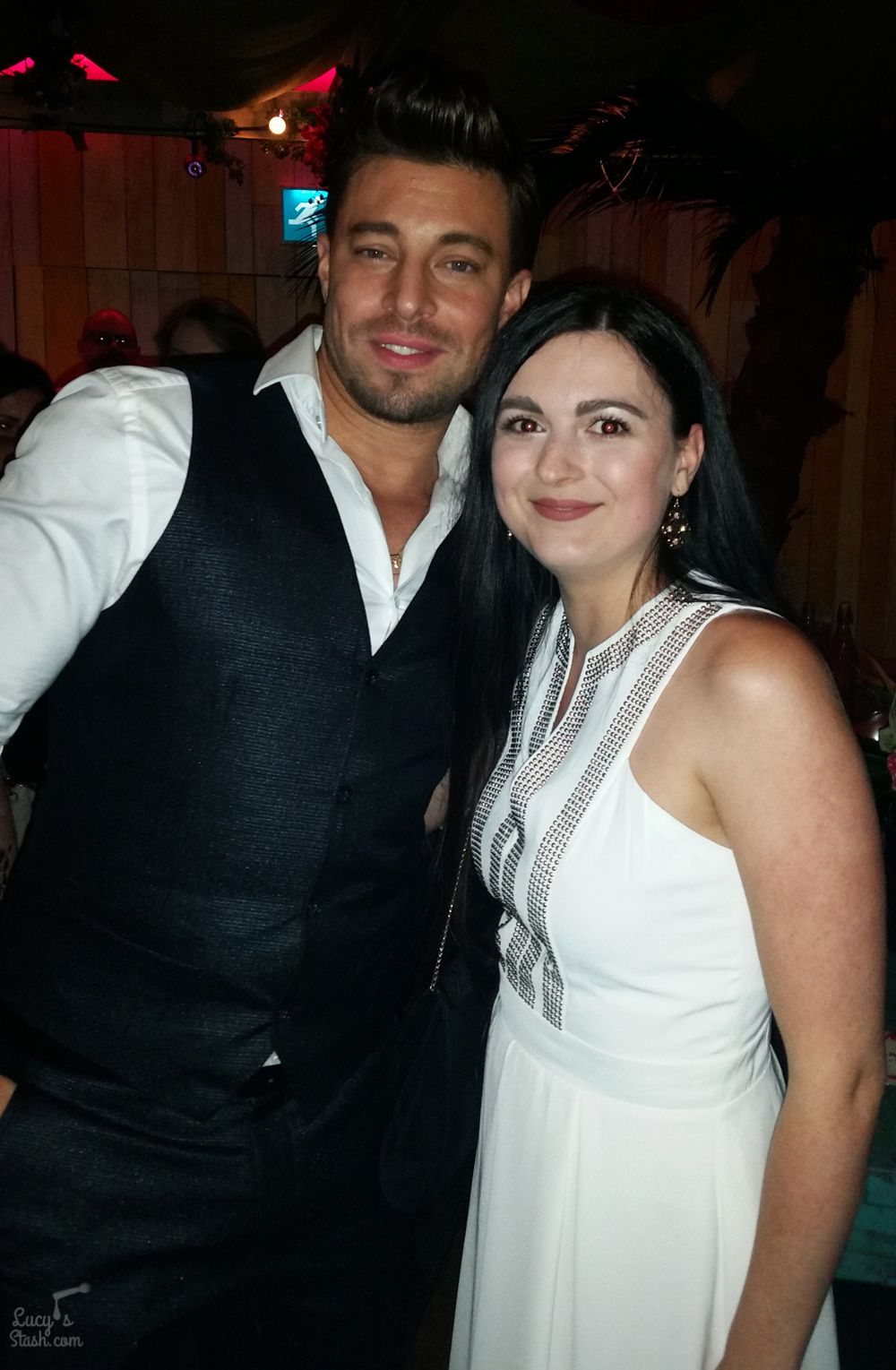 Duncan James and I