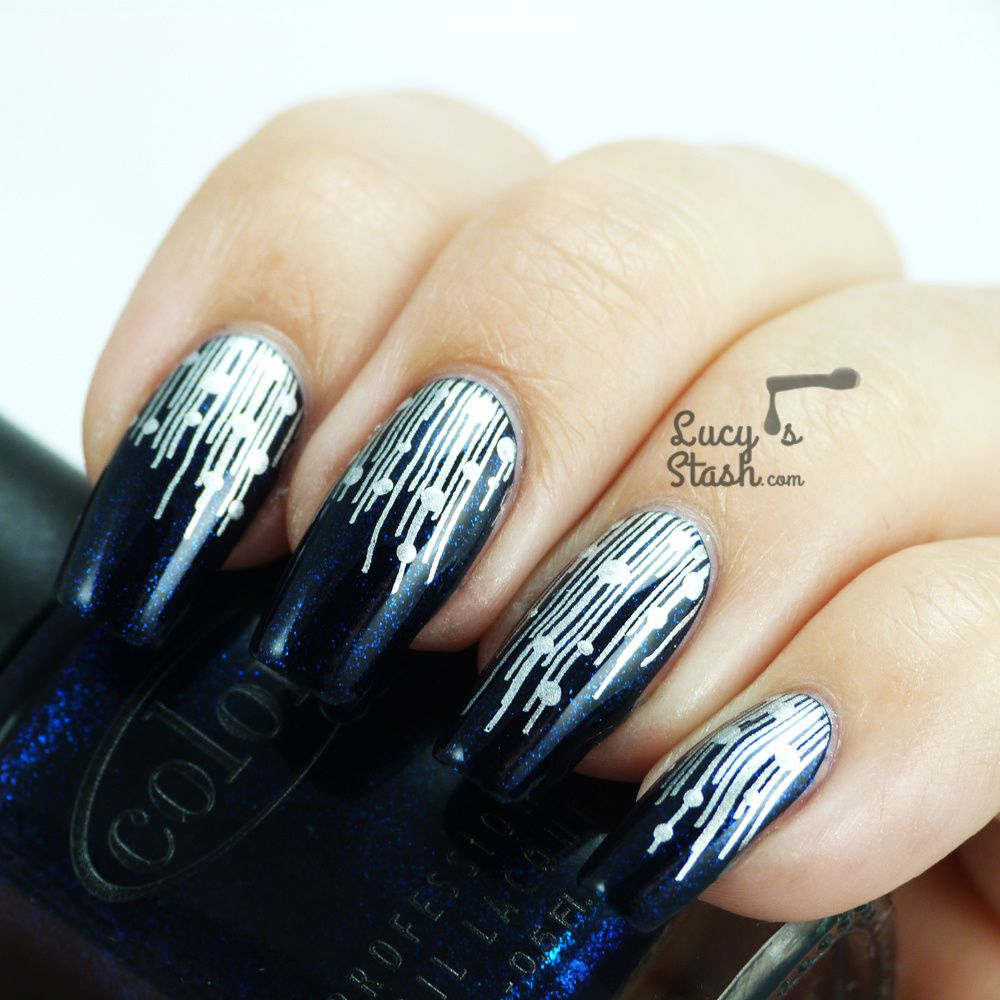 New Years Look: Fireworks Inspired Nail Art - Lucy\'s Stash