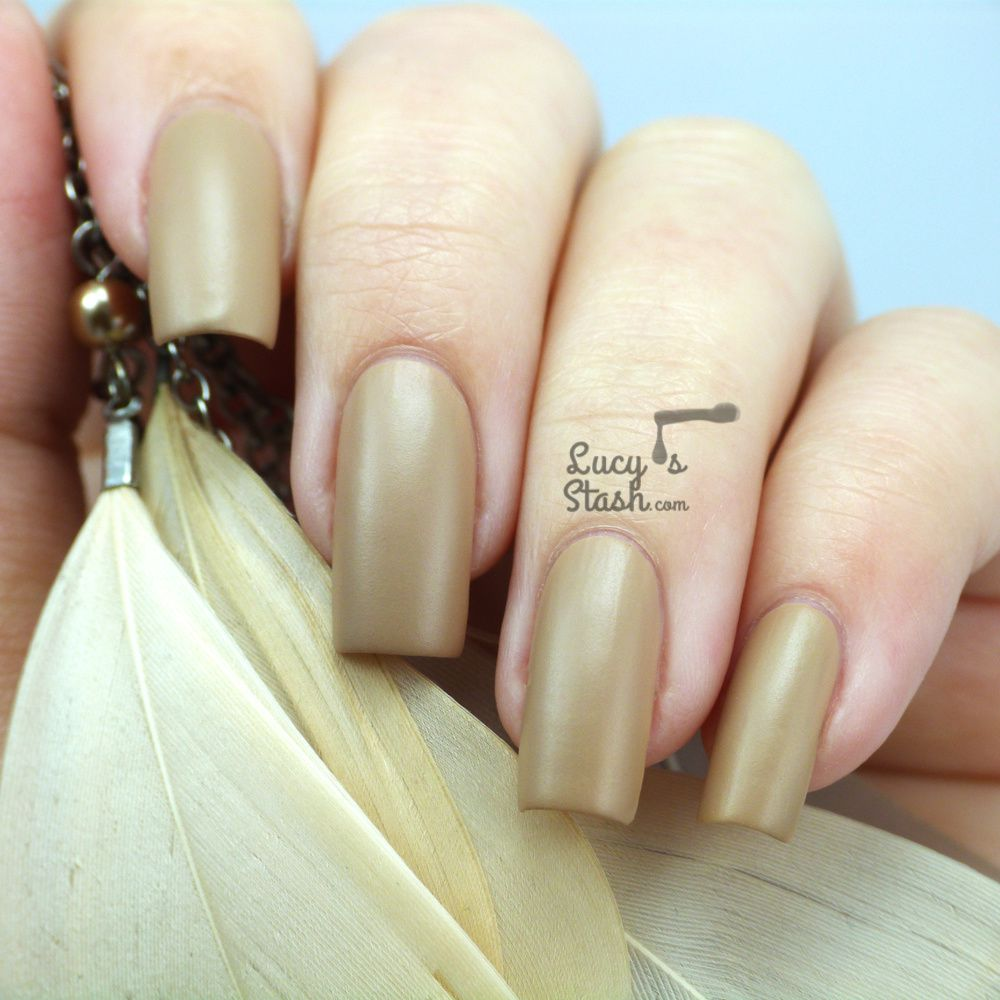 Barry M Caramel Matte - Review &amp&#x3B; Swatches