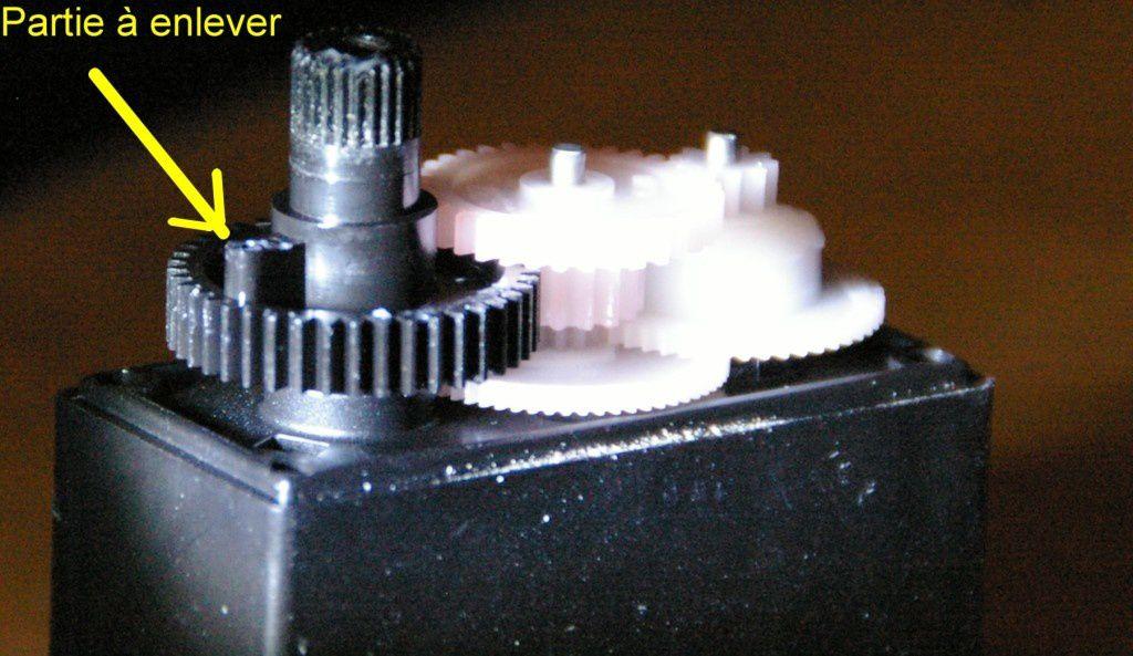 317. Préparation du servomoteur radar