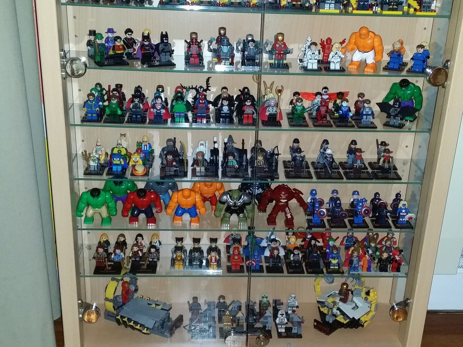 Ma collection de minifigs