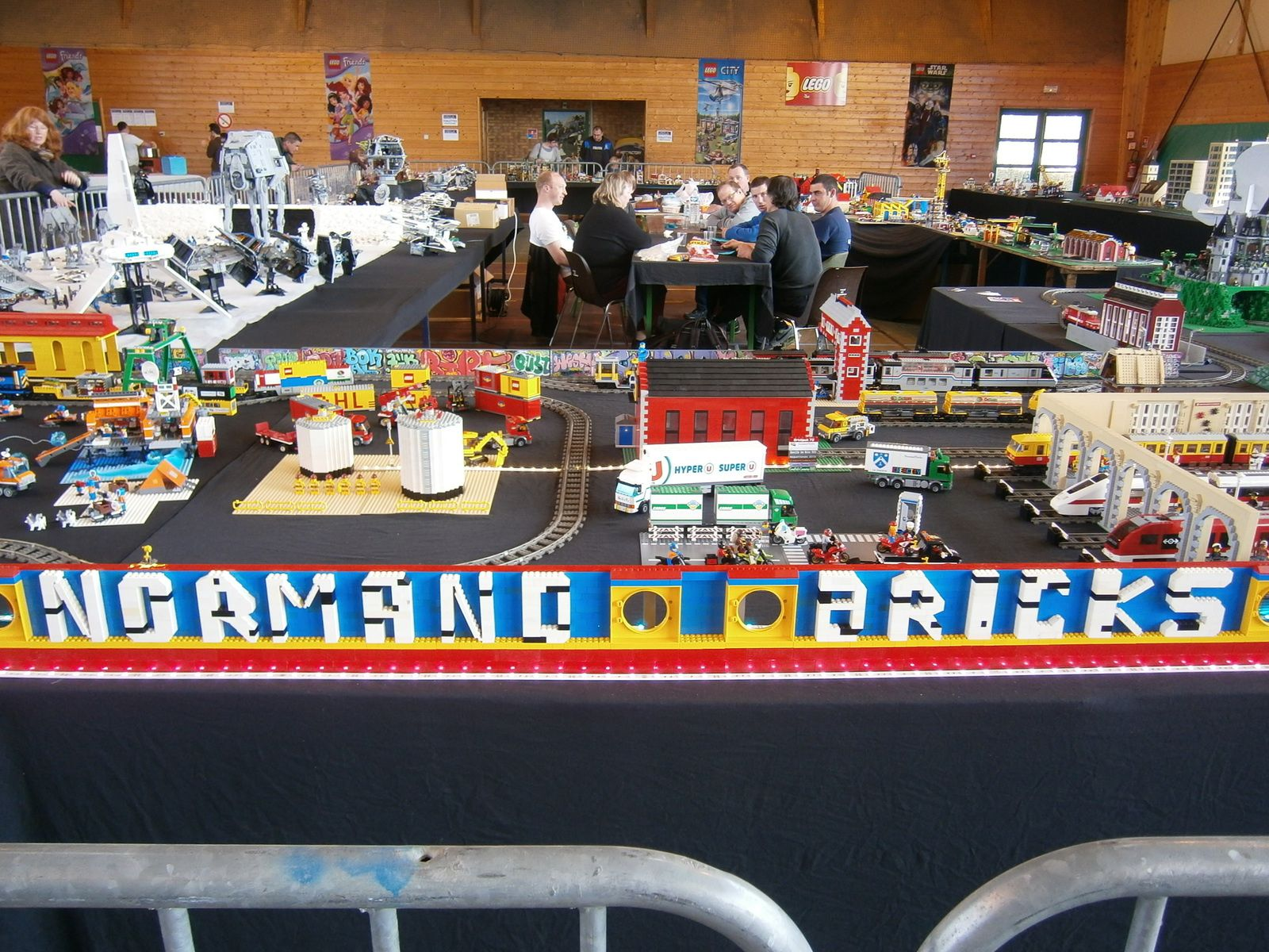 Lego City - Arctic - Lego train - Benny