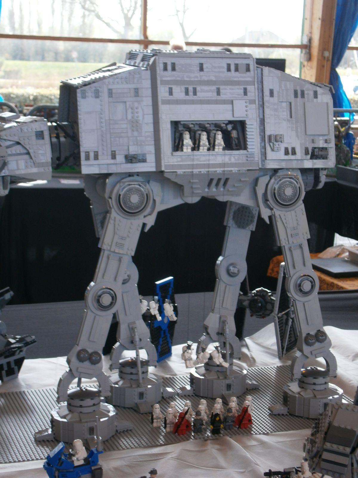 Enorme Armée et Scène Star Wars - Lego