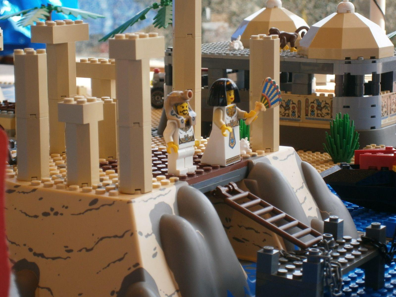 Grosse scène Egypte - Lego