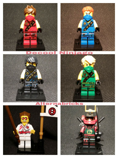 Decool Ninjago tournament robe
