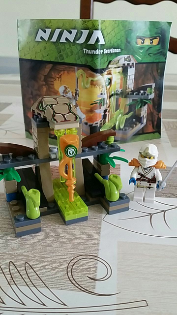 BELA NINJAGO 9753 with Zane ZX