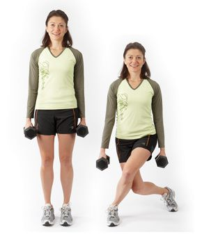 1)20 walking lunges,2) 10 squat jumps,3) 20 curtsy squat,4) jumping  lunges,
