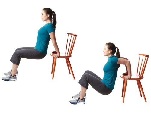10) 30 secondes butt kickers,11) 5 push up,12) 10 tricep dips,13) 10 lunges chaque jambes,14) 5 jump squat,15) 30 jump rope,16) 40 russian twist,17) 15 short bridges,18) 15 jack knife sit up,