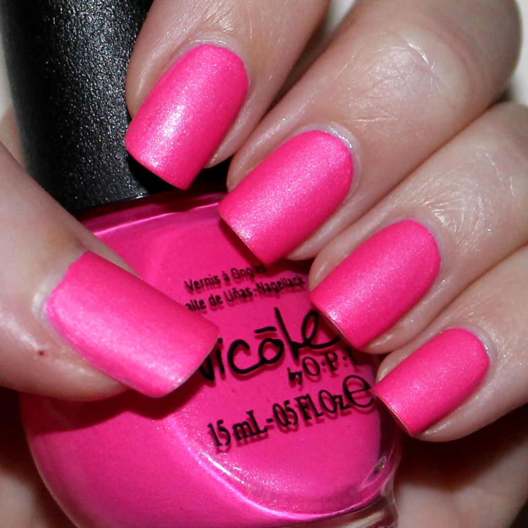 Duri Cosmetics Rejuvacote / Revlon Quick dry base coat / Nicole by OPI Still Into Pink