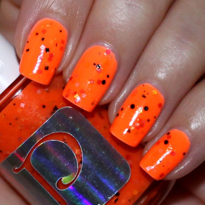 Duri Cosmetics Rejuvacote / China Glaze Sun of a Peach / PolishMeToGo Pumpkin Smash LE / Poshe Top Coat