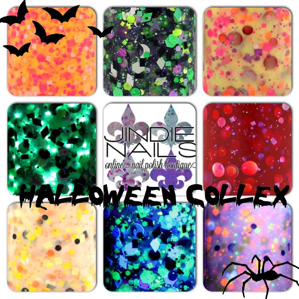 Jindie Nails Halloween 2013 Collection