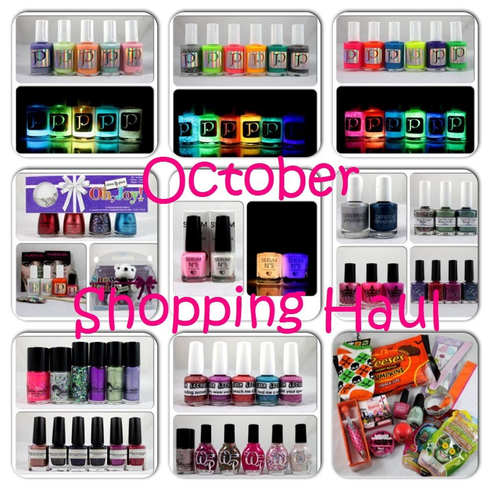 October 2013 Nail Shopping Haul