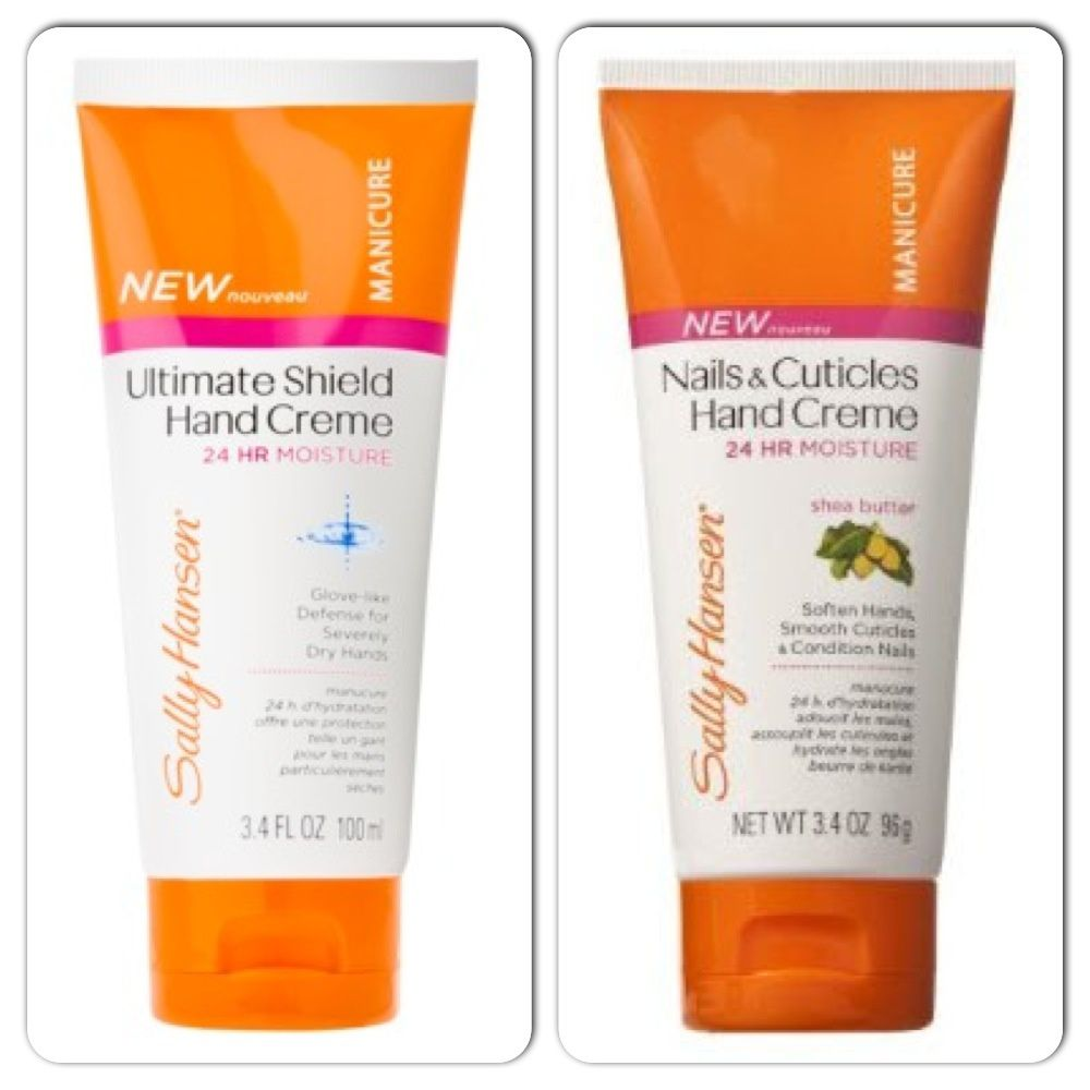Sally Hansen Ultimate Shield Hand Cream / Sally Hansen Nails & Cuticules Shea Butter