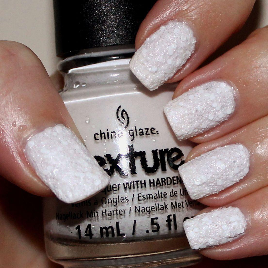Essie Protein Base Coat / China Glaze There's Snow One Like You