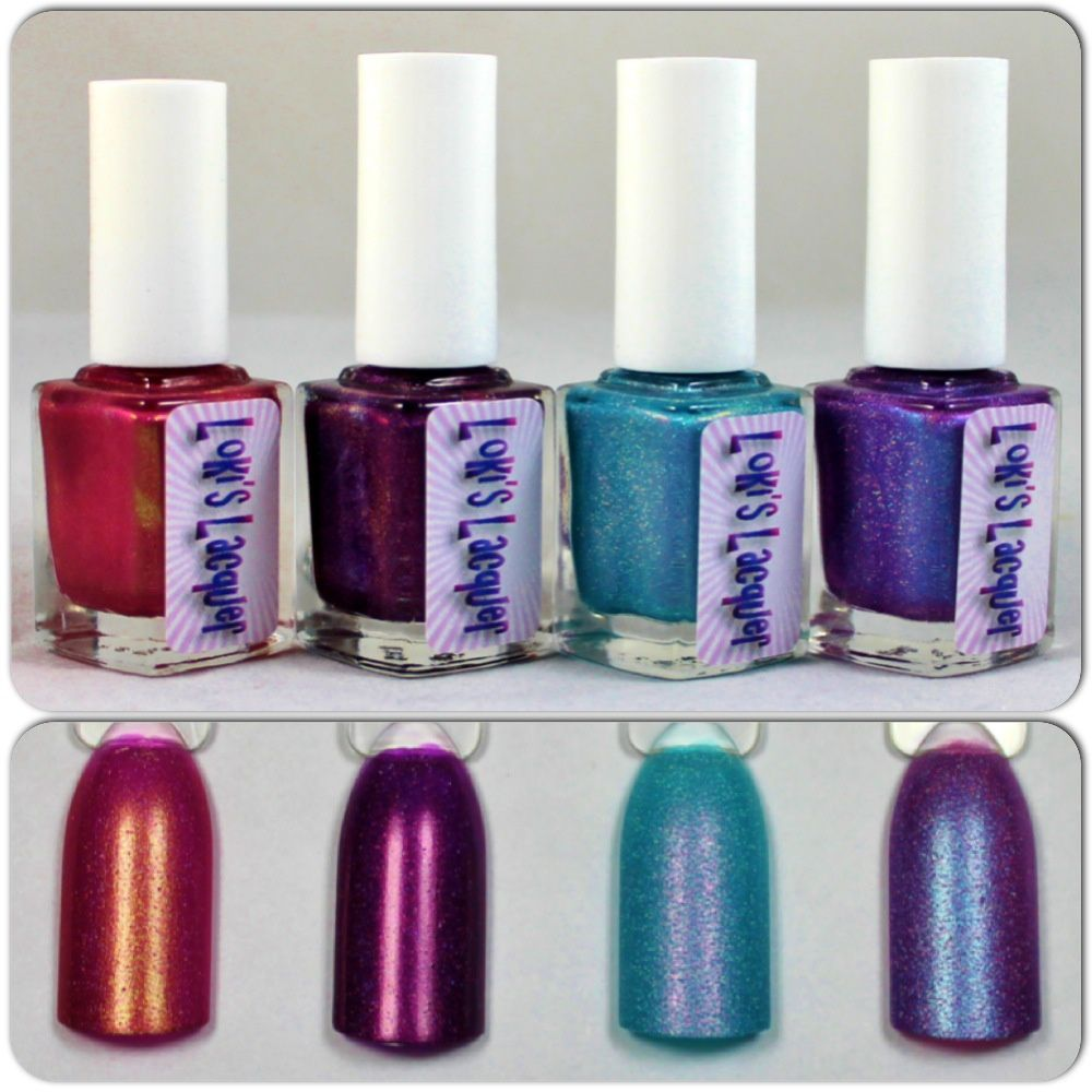Loki's Lacquer Lee Loo Dallas Multipass, Number 5 is alive, The Diva Dance & Divine Light