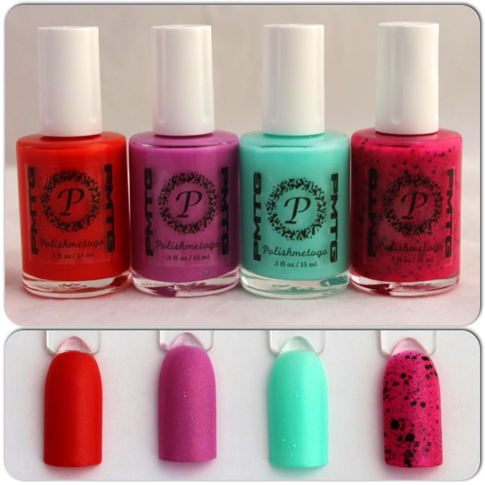 Polish Me To Go Queen of Hearts, Struck by Cupid, Liberty & Tainted Love