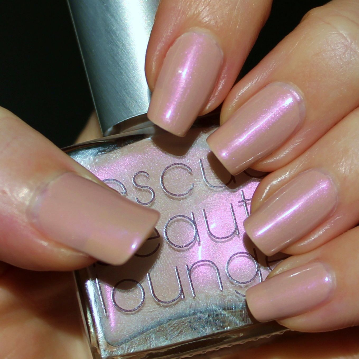 Essie Proteined Base Coat / Rescue Beauty Lounge Thank You / Poshe Top Coat