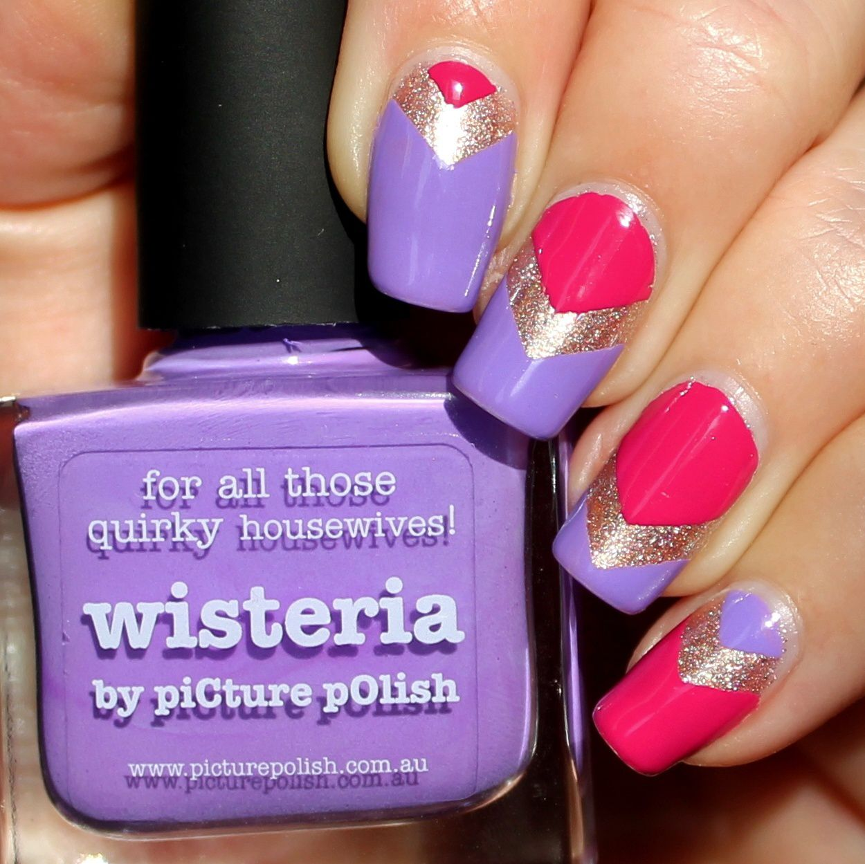 Duri Rejuvacote / Picture Polish Majesty, Wisteria & Flirt / Poshe Top Coat