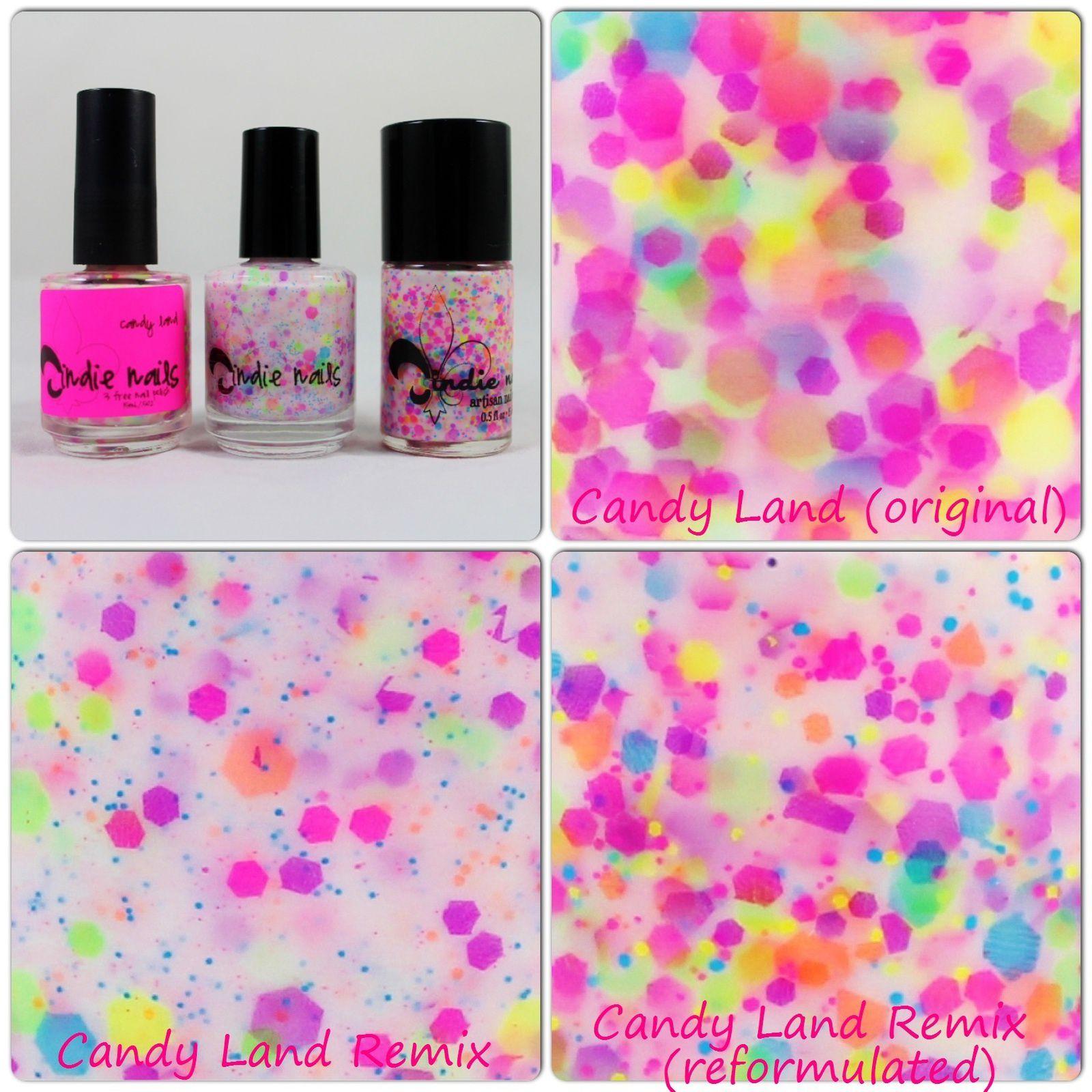 Candy Land (original) /  Candy land Remix / Candy Land Remix (reformulated)