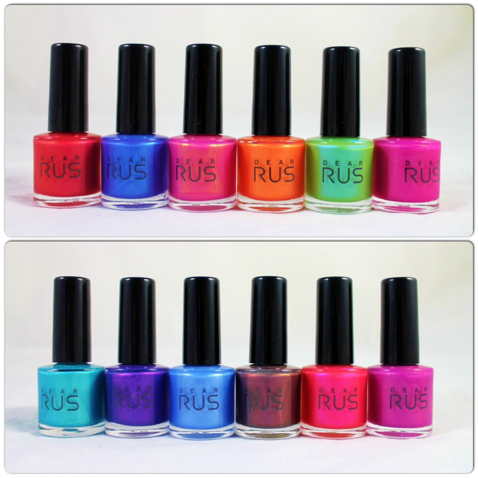 Dear Rus Color Changing Polish (Thermal) 25, 07, 21, 10, 04, 15, 23, 24, 08, 29, 12 &13