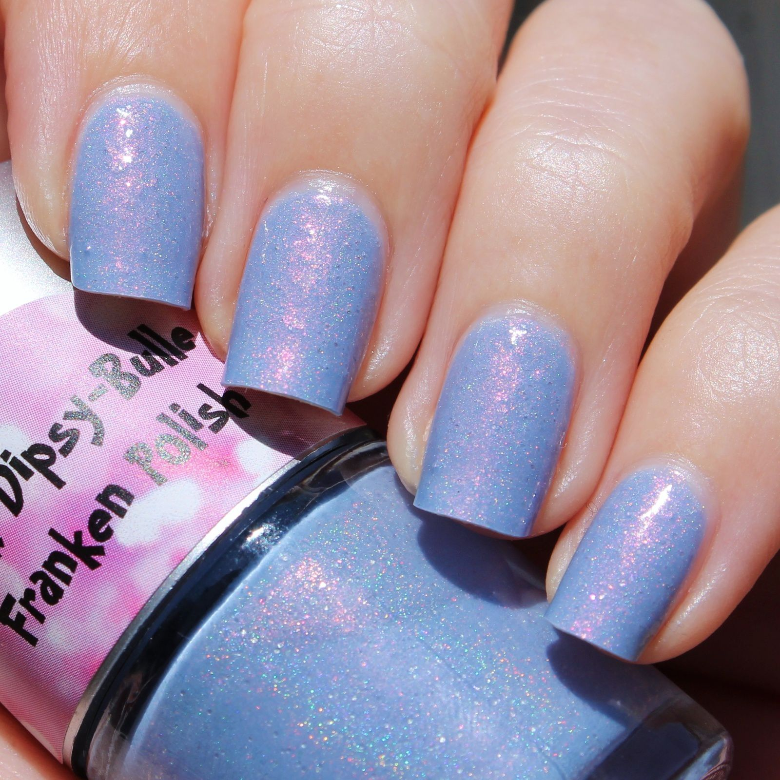 Pink Dipsy Bulle Franken Polish The Snow Queen