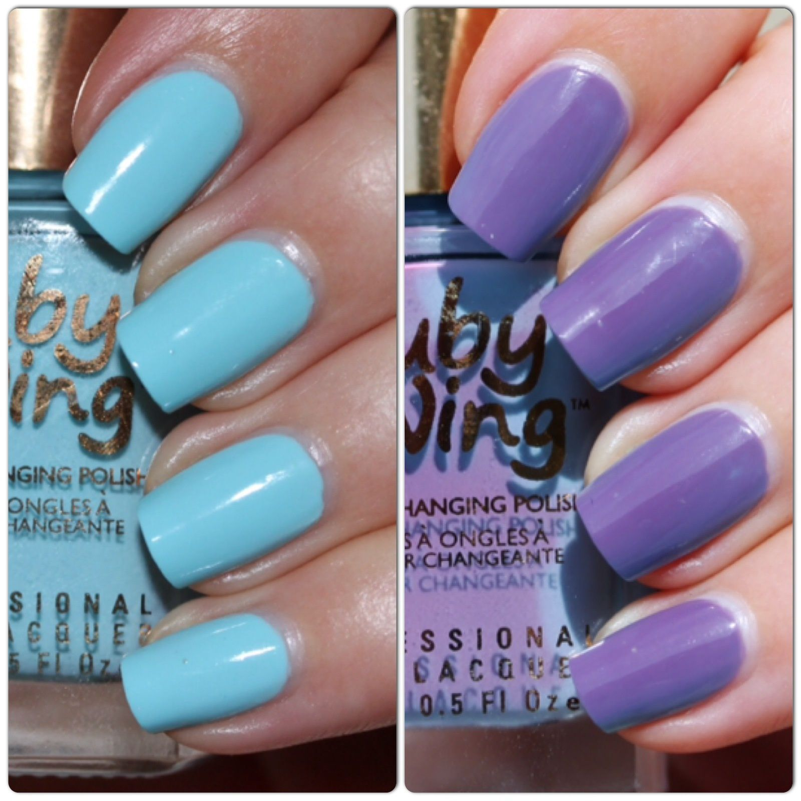 Ruby Wing Moonstone (UV Color Changing Polish)