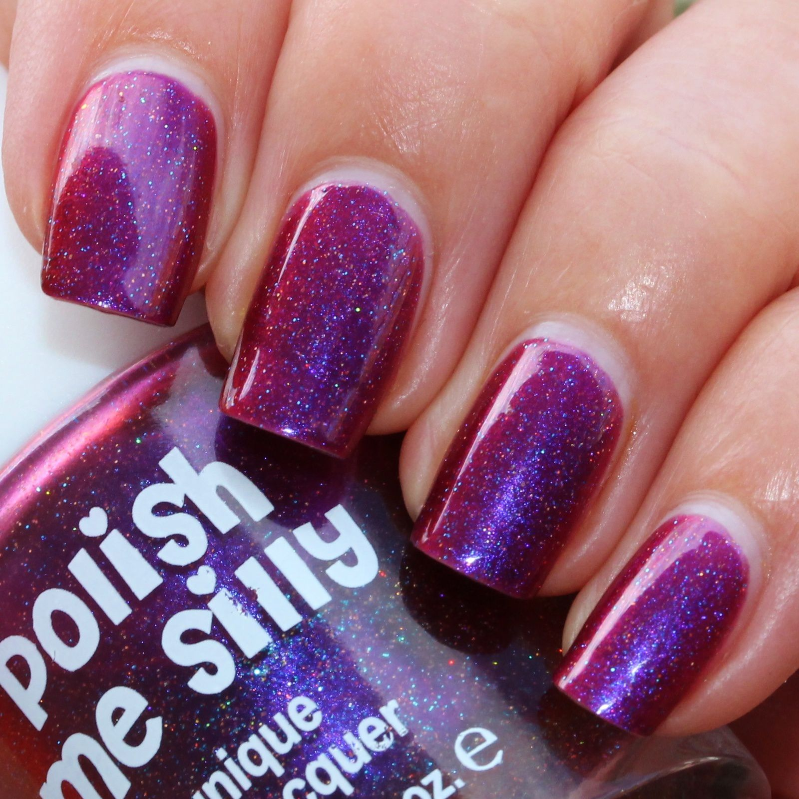 Essie Proteined Base Coat / Polish Me Silly Cosmic Kisses / Poshe Top Coat