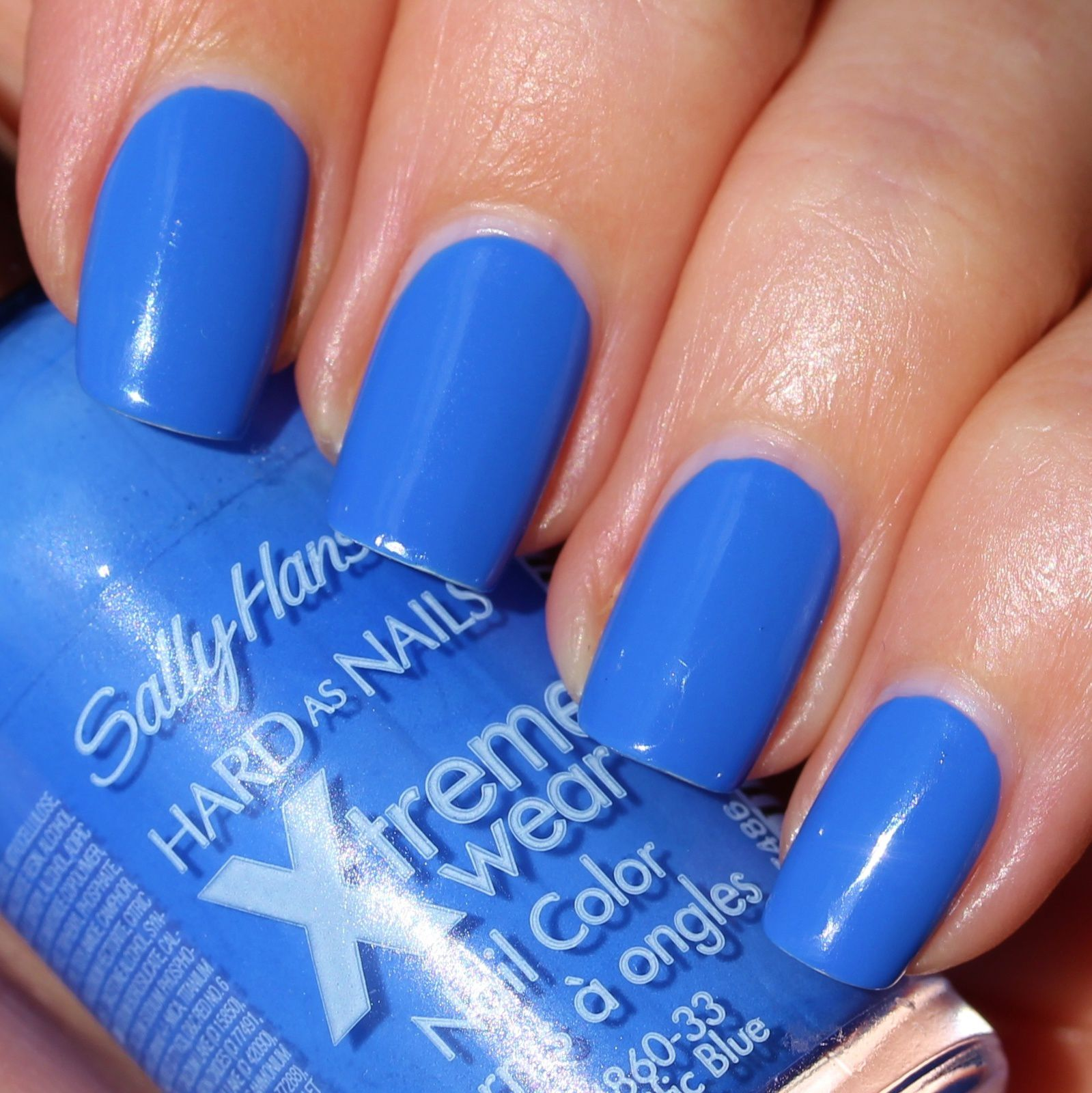 Duri Rejuvacote / Sally Hansen Xtreme Wear Pacific Blue / OutTheDoor Top Coat