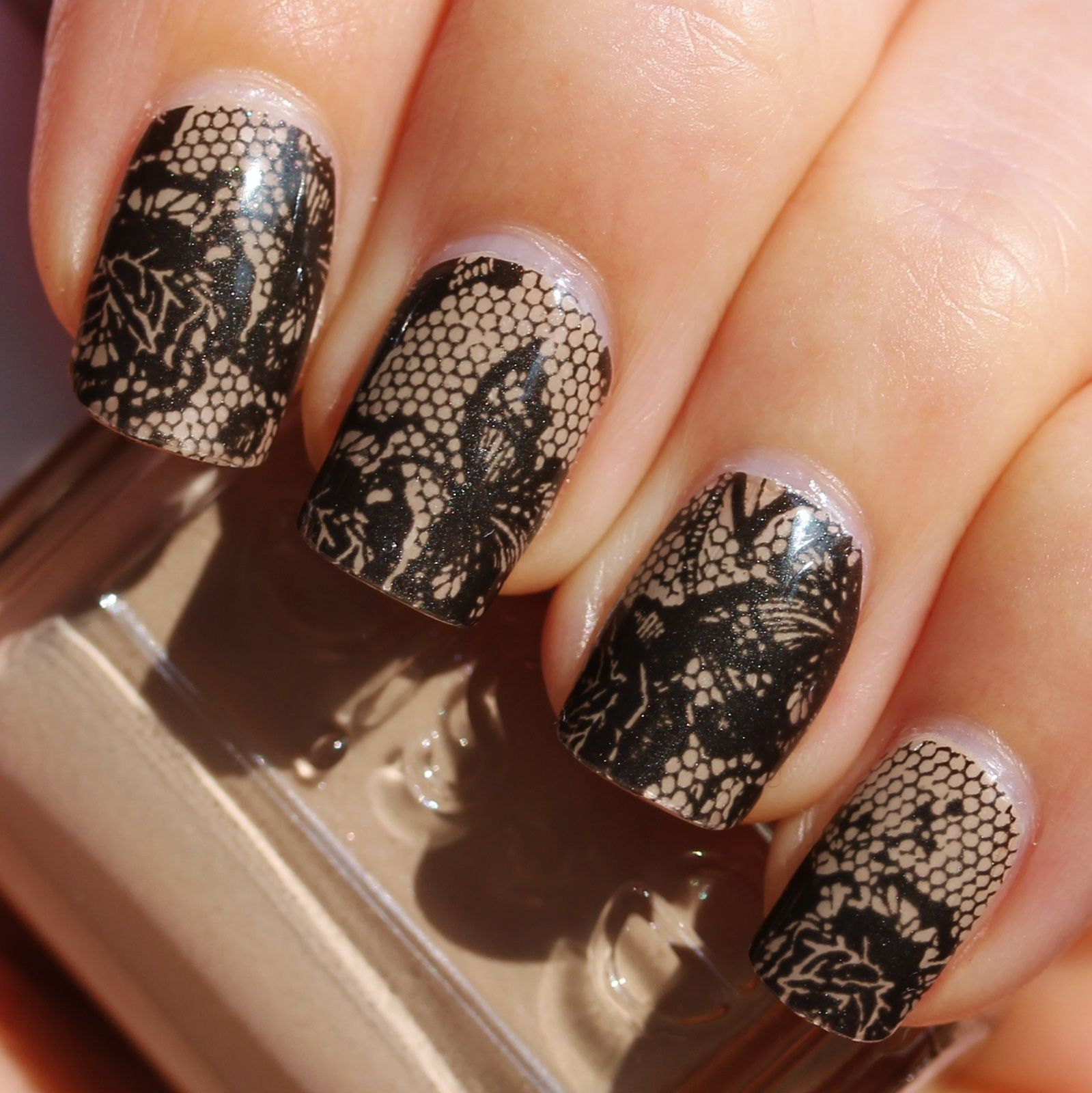 Essence Nail Fashion Stickers Gel Style Lace